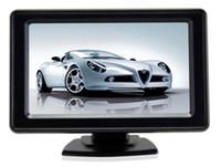 CAR Video Eight Sensors Capteurs de stationnement 4 Front 4 Rear Bibi Sound 4.3 Moniteur de rétroviseur TFT PZ602C-8 Free DHL