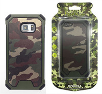 For iphone6s plus 7plus Camo Slim Camouflage case PC+ TPU Arm...