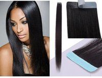 Best selling remy human hair extensions 40pcs 100g pack PU s...