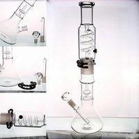 "19"" Tall Glass Bongs Water Pipes With Removable Parts T..."