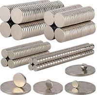 100PCS LOTE 5mm x 2mm Imanes Súper Fuertes de Neodimio de Tierras Raras N35 Imanes Súper Fuertes de Neodimio de Tierras Raras
