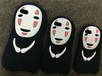 Cartoon No Face Man Silicone Cover Case for iPhone 5 5s SE 6...