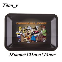 Metal Tobacco Rolling Tray Handroller 180mm*125mm*13mm & 275...
