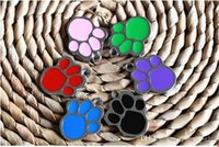 Los encantos colgantes Enamel Cat Dog Paw imprime encantos de moda encantos colgantes pulsera apta joyería envío gratis