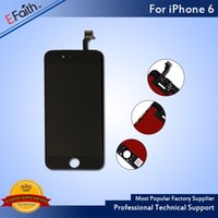 Wholesale- LCD For White iPhone 6 Grade A + + + LCD Display With...