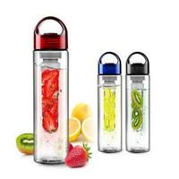 700 ملليلتر infuser البلاستيك شرب زجاجة مياه الشرب للرياضة عصير صانع عصير أفضل bpa drinkware الشحن أكواب زجاجات الليمون dhl