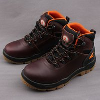 Spider man outdoor hiking boots male cowhide genuine leather...