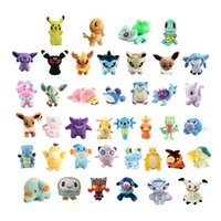 40pcs Lot 12- 22cm Dragonite Popplio Rowlet Litten Vulpix Mim...