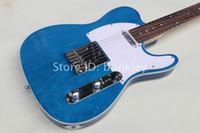 Fábrica al por mayor de China chispa personalizada bule metálico guitarra 6 cuerdas guitarra eléctrica TL