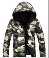 Nueva chaqueta de los hombres de la moda de primavera y otoño cálido chaqueta de camuflaje hombres abrigo chaqueta de la chaqueta de los hombres de los hombres chaquetas casuales