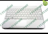 Новая клавиатура ноутбука ноутбука с Пальмрест (+спикер) для Samsung N210 N220 белый французский FR* версия - BA75-02431B версия: FR (французский)