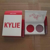 In stock! 2017 Kylie Jenner Valentine Duo Eye shadow + Lip G...
