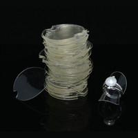 Freies Verschiffen-Plastik-freie Blatt-Ring-Anzeige 20Pcs / lot Art- und Weiseschmucksache-Stand-Anzeigen-Schaukasten-Ring-Ohrringe Halter 38mm Blatt