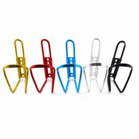 1 unids 15 cm x 7.5 cm Ciclismo Bicicleta Bicicleta Aleación de Aluminio Manillar Titular de la botella de agua jaula envío gratis