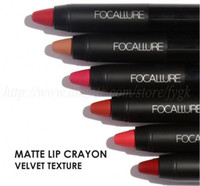 FOCALLURE Makeup matte Waterproof Red lipstick with long las...