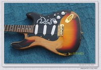 High Quality Newest Sunburst old Electric Guitar Aged Guitar...