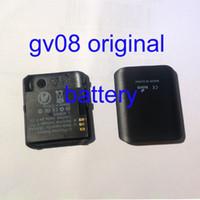 Kingwear reloj gv08 reloj inteligente 100% original nueva batería GV09 M9 DZ09 Aplus GV18 GT08 reloj inteligente batería original