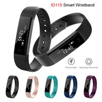ID115 Bluetooth Smart Bracelets Wristband Band Fitness Track...