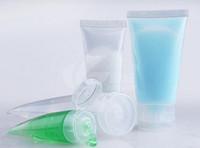 15G 30G 50G 100G l PVC mangueira garrafas embalagens pequenas garrafas de amostra Loção limpador colar embalagem 100pcs cápsula garrafa / lote