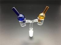 Универсальный цветной стеклянный пузырь карбюратор колпачок круглый шар купол для XL толстый кварц тепловой banger ногти стеклянные водопроводные трубы, dab нефтяные вышки