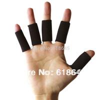 Venda por atacado- 10Pcs / lot Professional Sports Segurança Elastic Stretch Suporte para o Punho Dedo Protector Proteção Basquetebol Voleibol L084