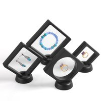 4PCS BLACKNew GELİŞ Fonksiyonlu Takı Ekran Küpe Bilezik Kolye Yüzük Ekran Standı Temizle Aksesuarları Ekran Kutusu