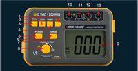 VC60B + 디지털 절연 저항 시험기 메가 메가 옴 미터 DC / AC 0.1 ~ 2,000m 옴 도매