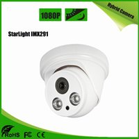 StarLight Sony IMX291 CMOS Hybird Kamera AHD / CVI / TVI / CVBS 4 IN 1 Kamera 2MP HD AS-MHD2208RS Beyaz