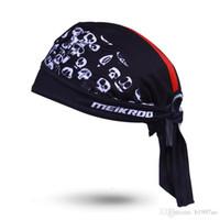 2017 yeni varış Bisiklet eşarp kap Terleme bandana başörtüsü bandı hızlı kuru bisiklet İskelet tarzı şapka