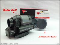 Taktische Jagd Reflexvisier Solarenergie System Trijicon SRS 1X38 Red Dot Sight Umfang Mit QD Montieren Optics Zielfernrohr