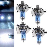 Car Styling 12V 100W LED H1 / H3 / H4 / H7 / H1 / H3 / H4 / H7 5000K Xenon Gas Super Bright Bianco Car Faro Auto Alogeno Lampadina Lampadine Lampadine Bulbs Fendinebbia