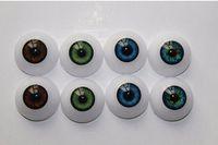 22 / 20mm reborn / bjd pop oogbol ambachtelijke ogen speelgoed met verschillende kleuren de meeste poppen accessoires voor kinderen DIY Easy Gebruik Acrylic halfronde