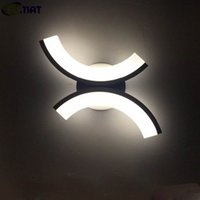 FUMAT X Shape Wall Lamp Modern Acrylic LED Wall Lamp Bathroo...