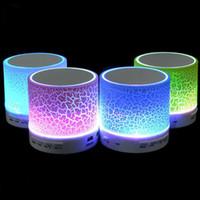 Speakers Bluetooth Mini Speaker A9 Led Colored Flash Wireles...