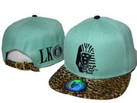 Last Kings leather Leopard Collection Snapback caps adult ha...
