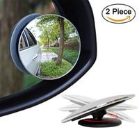 Espejo retrovisor sin marco del espejo del punto ciego de HD de 360 grados que diseña los espejos convexos convexos redondos de la parte posterior de la vista posterior