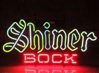 Segno della luce al neon. segno del LED ha condotto la lampadina AMORE Neon birra segno Bar casa Iscriviti New Shiner Bock Beer Texas a mano Neon