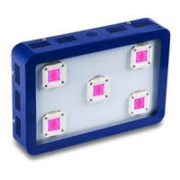 Dimmable Vollspektrum LED Wachsen Beleuchtung Bestva X4 / X5 / X6 1200W / 1500W / 1800W Wachstumszelte Hydro / Aeroponische Pflanze Wachstum Beleuchtung (Blue Case)