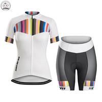 Frauen angepasst neue jiashuo 2017 Bike tragen klassische Bergstraße Racing Team Bike Pro Radfahren Jersey Sets Shorts Kleidung Atmung Luft