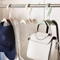 Hanging Closet Organizer Hooks Hanger Holder for Purses, Han...