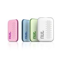 Yeni Somun mini Akıllı Etiket Bluetooth Tracker Çocuk Pet Anahtar Akıllı Bulucu Anti-kayıp Android iOS için GPS BG