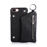 Fashion Litchi PU Leather Zipper Wallet phone Case for iPhon...
