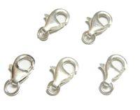 10pcs / lot 925 Argento sterling argento aragosta stringa per il regalo di gioielli di moda artigianale fai da te W37
