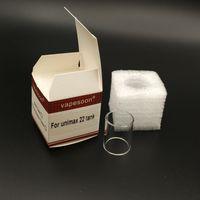 joyetech unimax 22 atomizer unimax 25 Ultimo Atomizer 투명 유리 튜브 용 5pcs / lot 100 % 원래 vapesoon 교체 유리 튜브 슈트