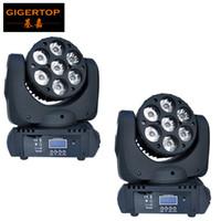 TP-L641 2PCS / LOT 7X12W 4IN1 CREE LED Moving Head Light Beam Effect Moving Head Light 15dmx CHS Stage Lighting Moving Head Light TP-L641