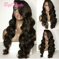 Bythair High 180% Density Virgin Brazilian Human Hair Wigs F...