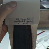 10A - Beste Qualität 100% Menschenhaar Nano Ring haarverlängerung, 1g pro strang100s pro Los, freies DHL