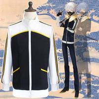 New Anime Touken Ranbu Online Kurtka AKashi Kuniyuki Hood Cosplay Costume