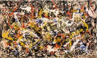 Jackson Pollock Convergence Canvas Print Paintings On High Q...