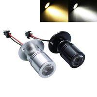 Venta caliente mini 1 w 3 w lámpara de luz de exposición lámpara de techo regulable led downlight 85-265v luz de lugar led de iluminación + controlador